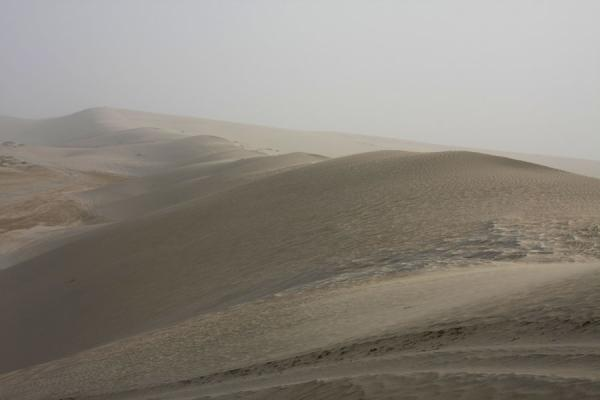 Foto di View from the top: sand dunes of Khor al AdaidKhor al Adaid - Qatar