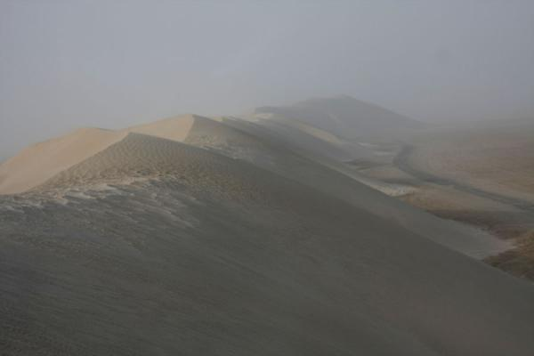 Foto di View from the top of a sand duneKhor al Adaid - Qatar
