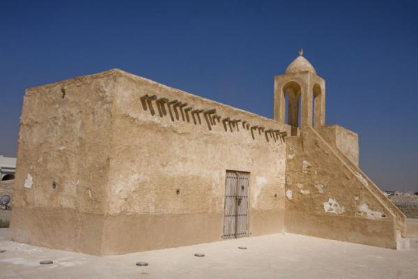 Foto di Small mosque in the Umm Salal Mohammed fort complexUmm Salal Mohammed fort - Qatar