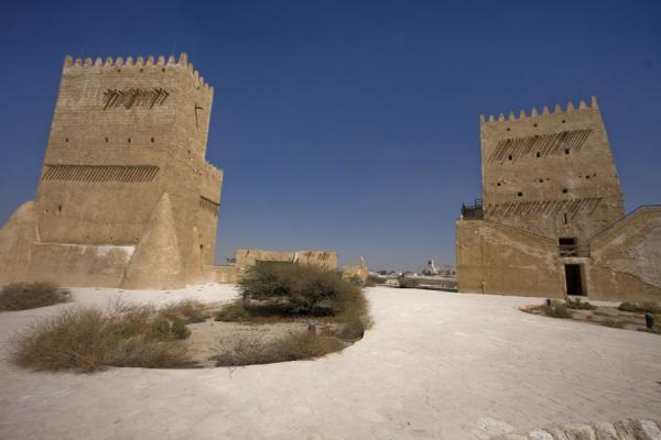 Picture of Umm Salal Mohammed fort (Qatar): Barzan and East Towers seen from the south