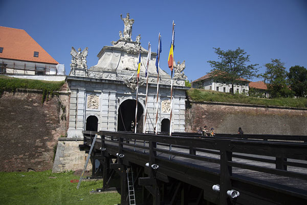 Foto van The Third Gate of the Alba Carolina citadelAlba Iulia - Roemenië