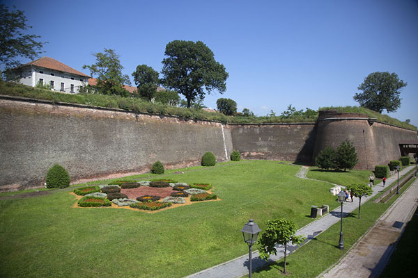 The eastern walls of the Alba Carolina citadel | Cittadella Alba Carolina | Rumania