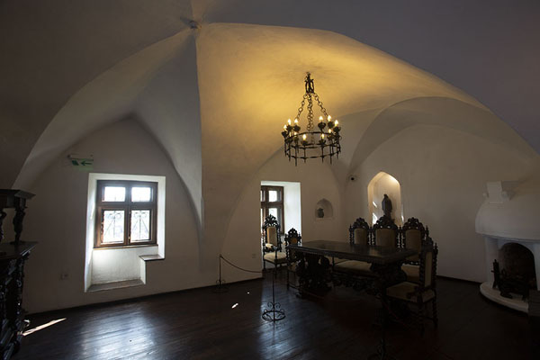 Photo de One of the rooms of Bran castleBran - Roumanie