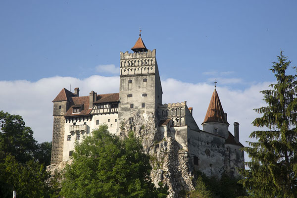 View of Bran castle | Bran castle | Romania