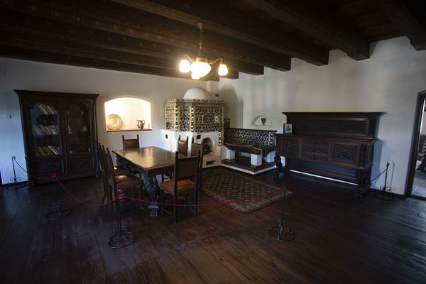 One of the rooms of Bran castle | Bran castle | Romania