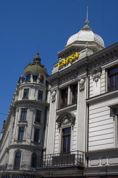 Foto van Capsa hotel is one of the historical buildings on Calea Victoriei - Roemenië - Europa