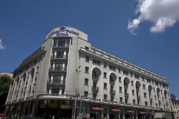 The Athenée Palace, now a Hilton hotel | Calea Victoriei | Roemenië