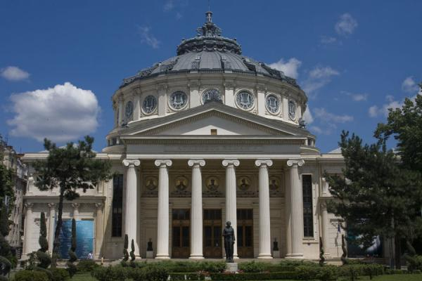 Romanian Athenaeum concert hall, inaugurated in 1888 | Calea Victoriei | Rumania
