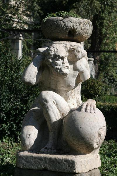 One of the many statues in Cismigiu Gardens | Cismigiu Gardens | Romania