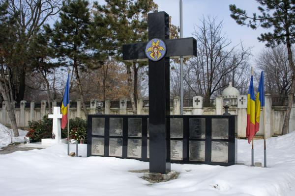 Picture of Overview of the cemetery of the Heroes of the RevolutionBucharest - Romania