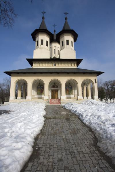 Exterior of the Church of the Martyr Heroes | Cemetery of Heroes of Revolution | Romania
