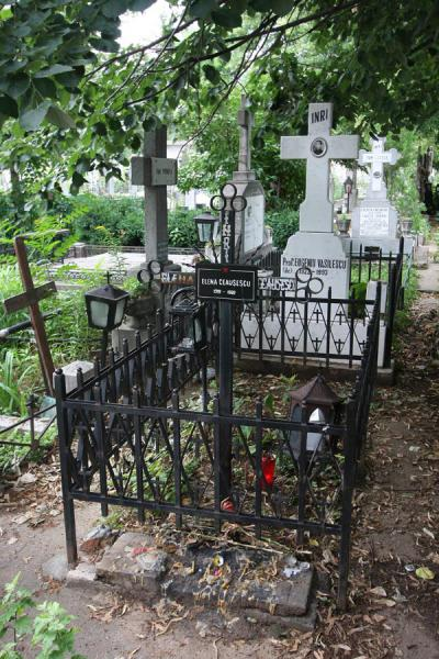 Elena Ceaucescu interred in a simple grave of Ghencea Cemetery | Ghencea Cemetery | Romania