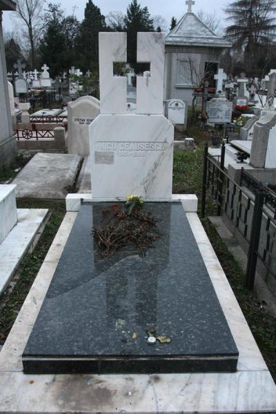Tombstone of Nicu Ceaucescu, quite far from his parents | Ghencea Cemetery | Romania