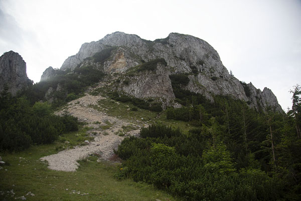 The summit of Piatra Mică | Kalibash dorpjes | Roemenië