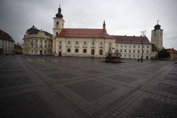 The Large Square in the early morning | Sibiu | Romania