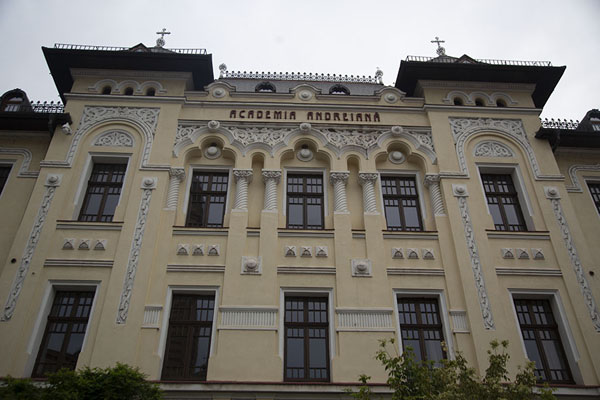The impressive Academia Andreiana building in the upper town of Sibiu | Sibiu | Rumania