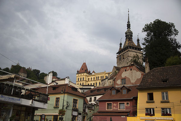 The east side of Sighișoara | Sighișoara | Rumania