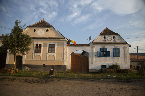 Two houses on a street in Viscri | Viscri | Romania