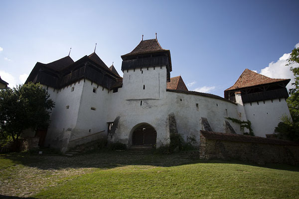 Picture of Viscri (Romania): Fortified church of Viscri seen from outside the walls