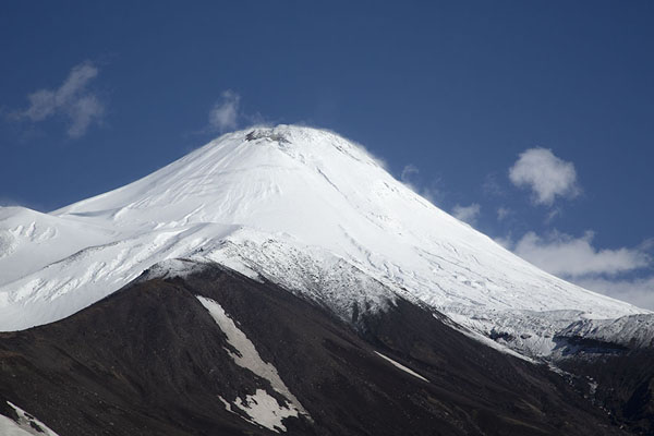 Photo de Looking up Avachinsky Volcano from Camel Mountain - Russie - Europe