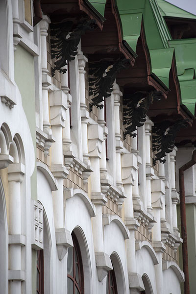 Side view of the House of Pioneers | Khabarovsk | Russie