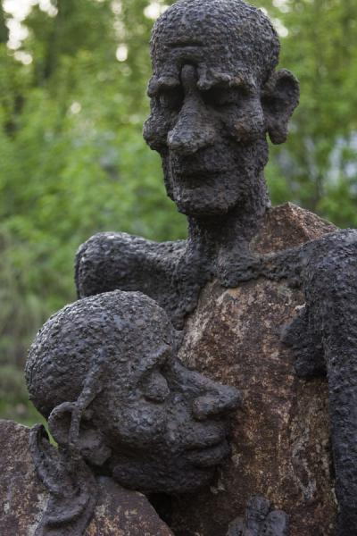Close-up of a statue in Sculpture Park | Sculpture Park | Russia