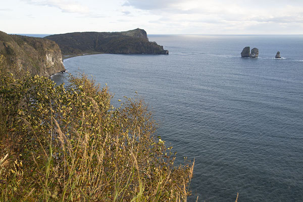 Picture of Three Brothers Peninsula (Russia): Looking towards the Pacific Ocean across the entrance to Avachinsky Bay