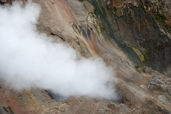 Foto van Close-up of one of the biggest geyser of the Valley of the Geysers: the Big - Rusland - Europa