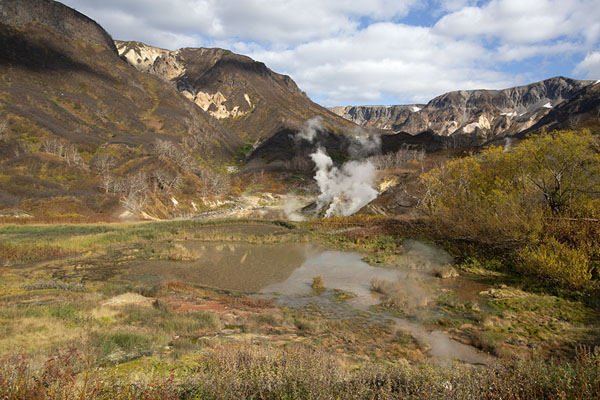 View of the Valley of Geysers | Vallei van de Geisers | Rusland