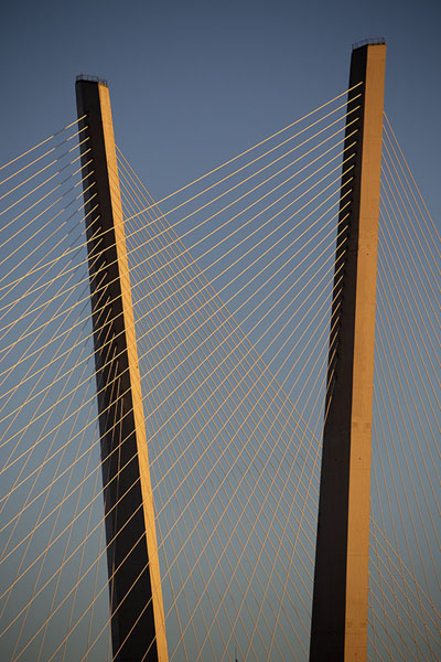 Late afternoon view of Zolotoy bridge | Puentes de Vladivostok | Rusia