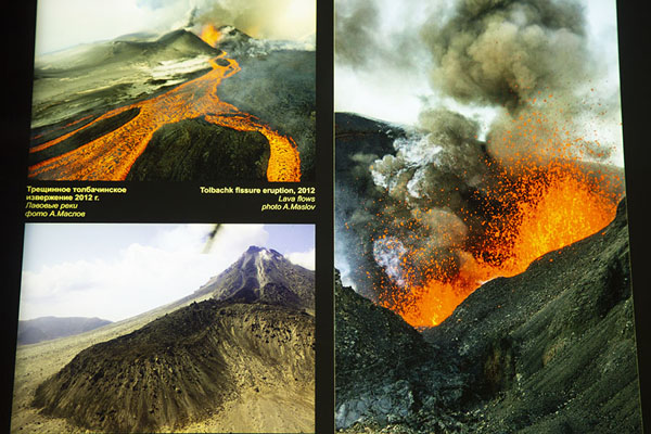 Foto de Images of eruptions of volcanoes on Kamchatka - Rusia - Europa