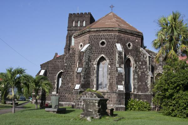 Picture of Basseterre (Saint Kitts and Nevis): View of St. George's Anglican church from the east
