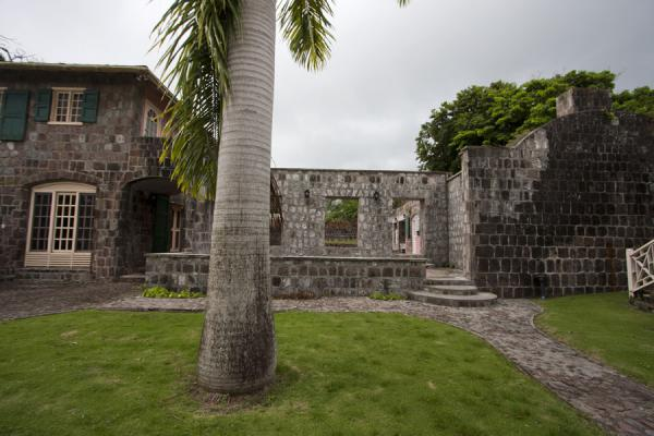 Foto van Ruins of the Old Manor estateNevis plantages - St Kitts en Nevis