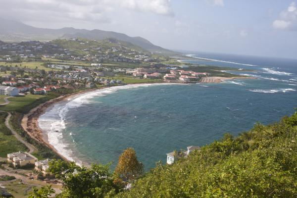 View of North Frigate Bay from Sir Timothy's Hill | Péninsule surest de St Kitts | St Christoph et Niévès