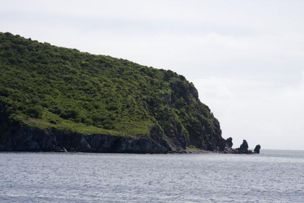 Photo de Nag's Head is the southernmost point of the southeast peninsula of St KittsPéninsule surest de St Kitts - St Christoph et Niévès