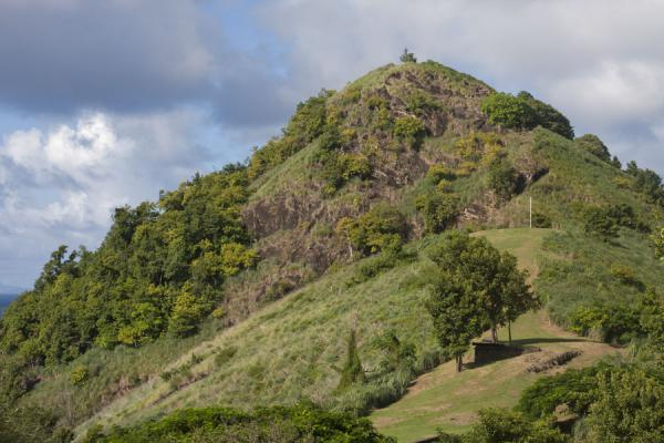 Photo de The highest point of Pigeon Island is Signal HillPigeon Island - Sainte Lucie