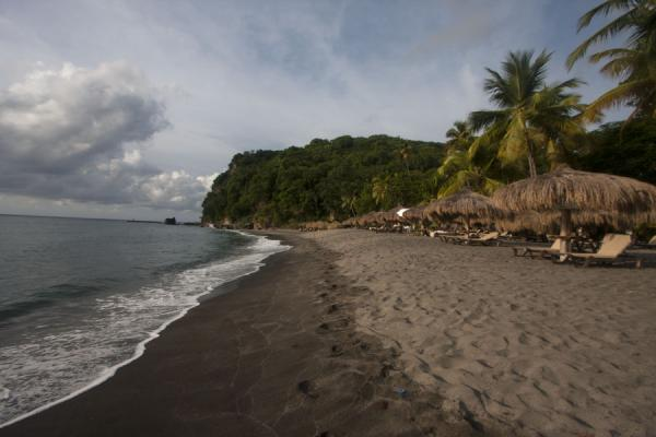 Anse Chastanet beach seen from the southern side | Plages de Soufrière | Sainte Lucie