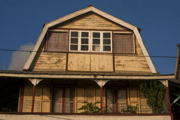 Traditional house in Soufrière with large balcony | Soufrière | Saint Lucia