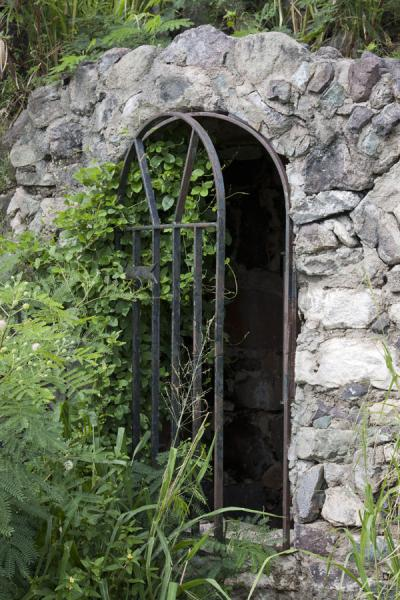 One of the remaining doors of the Fort St Louis | Saint Martin | Saint Martin