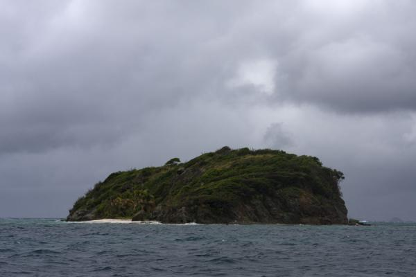 Foto van Jamesby island is part of the Tobago CaysTobago Cays - Saint Vincent en de Grenadines