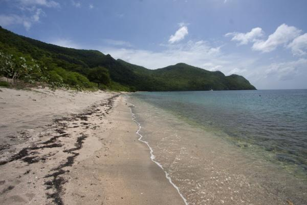 Beach at Chatham Bay in the west of Union Island | Union  Island | 生猛升和科拉那低呢四