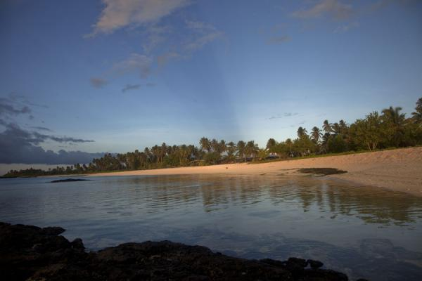 Picture of Sunset over the beach of FalealupoFalealupo - Samoa