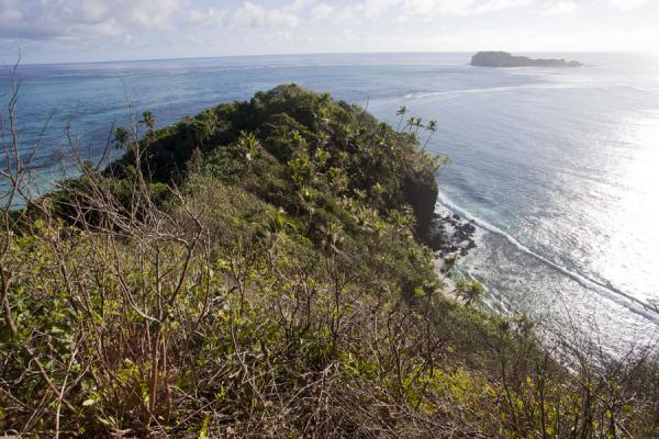 Picture of Namua island (Samoa): View of the surrounding see and reefs of Namua island