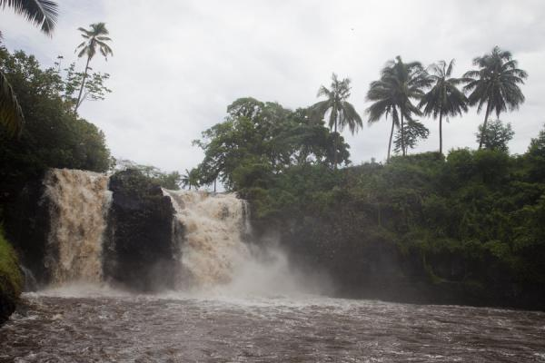 Picture of Falefa waterfall on the east coast of UpoluSamoa - Samoa