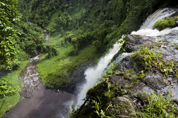 Picture of Looking down from Fuipisia waterfalls in the east of Upolu islandSamoa - Samoa