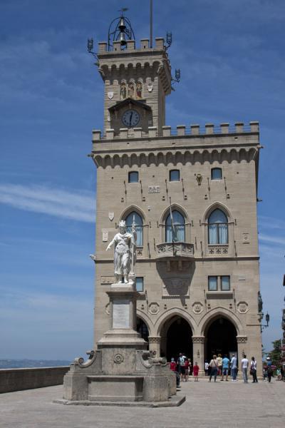 Picture of The Palazzo Pubblico on the Piazza della LibertàSan Marino - San Marino