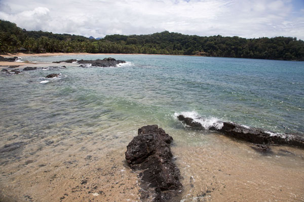 Picture of The bay at Bom Bom Island - São Tomé and Príncipe - Africa