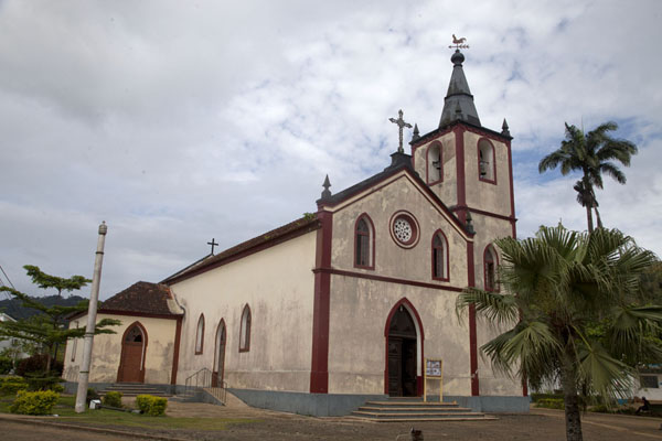 Picture of View of the Nossa Senhora da Conceição church in Santo Antonio