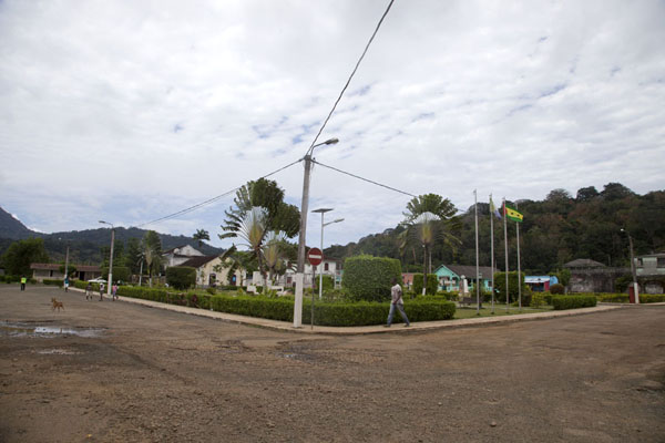 Picture of View of the main square of Santo Antonio - São Tomé and Príncipe - Africa