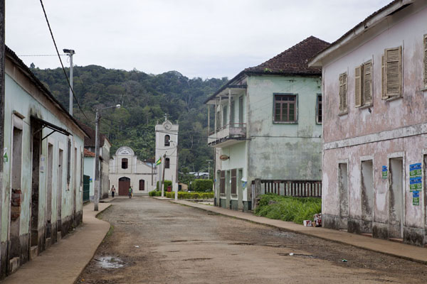 One of the main streets of Santo Antonio | Santo Antonio | São Tomé and Príncipe